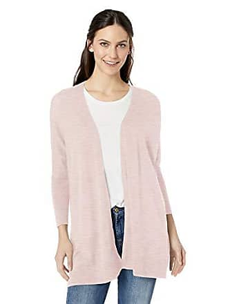 Daily Ritual Womens Lightweight Cocoon Sweater, Pale Pink, X-Large