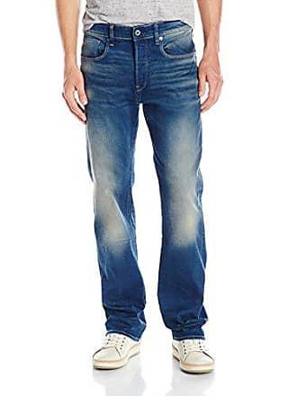 G-Star Mens 3301 Loose-Fit Jean, Medium Aged, 36x30
