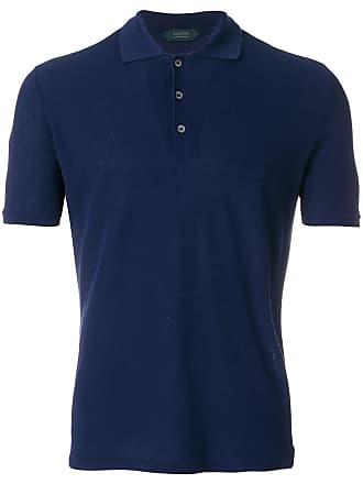 Zanone Camisa polo mangas curtas - Azul