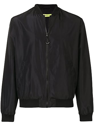 574841be855bb Versace Jeans Couture contrast print bomber jacket - Black