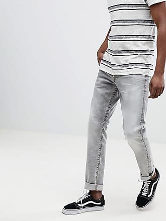 G-Star 3301 - Ljusgrå jeans med raka avsmalnande ben - Grå d6567fbcffc86