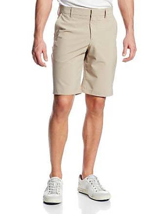 J.Lindeberg Mens M True Micro Stretch Golf Short, Beige, 33