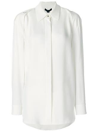 Alexander Wang Camisa de seda com botões - Branco