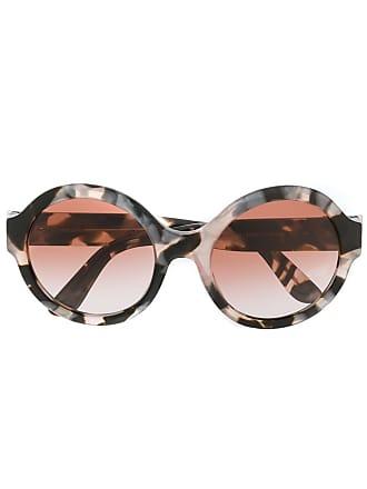 Dolce & Gabbana Eyewear Óculos de sol redondo - Cinza