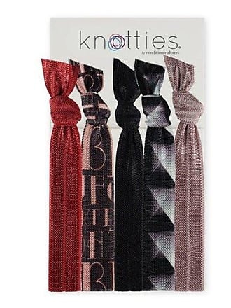 Knotties Snag Free Hair Accessories The Great Gatsby, 5-Count