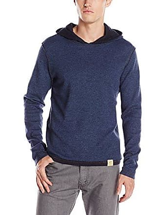 97b39c50 Boss Orange by Hugo Boss Mens Waspp Navy Doubled Soft Jersey with Hood,  Dark Blue