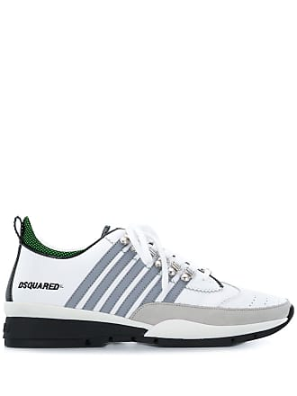 Dsquared2 lace-up sneakers - White