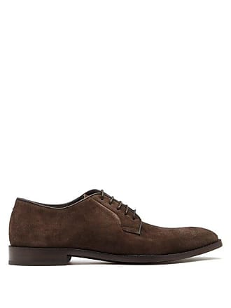 Paul Smith Chester Suede Derby Shoes - Mens - Brown
