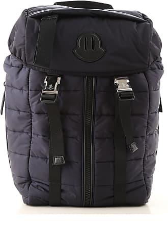 Moncler Backpack for Women On Sale, Black, Nylon, 2017, one size