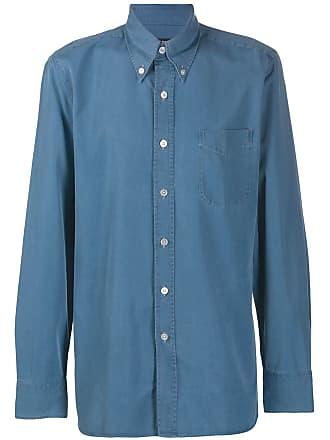 Tom Ford Camisa com modelagem ampla - Azul