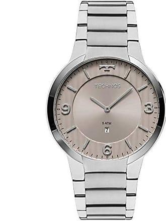 Technos Relógio Masculino Technos Slim GL15AO/1C Prata