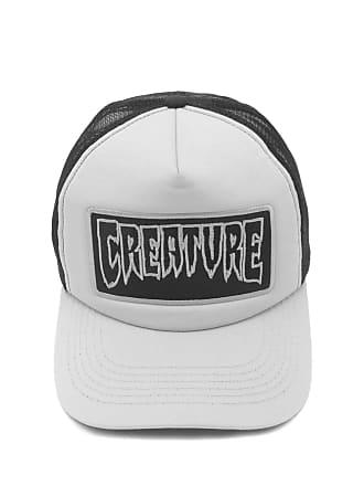 Creature Boné Creature Trucker Logo Patch Branco cc29b46446d