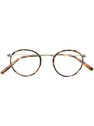 Oliver Peoples Armação de óculos Colloff - Marrom