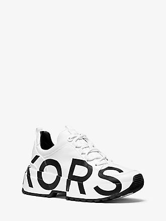 Michael Kors Cosmo Printed Leather Trainer