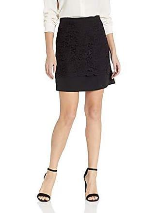 Nicole Miller Womens Dress Mini Skirt, Black Lace, 2