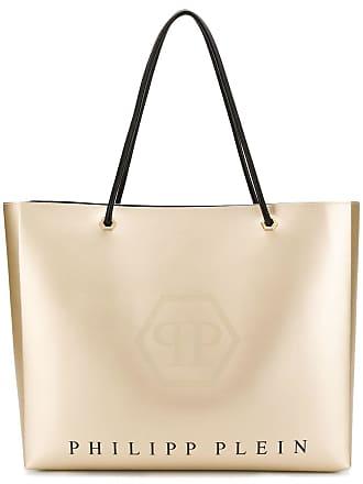 Philipp Plein logo shopping tote - Dourado