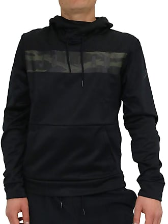 35a9937d246b Nike Nike Mens 23 Alpha Therma Pull Over Hoodie Black Dark Smoke Grey  AO8863-