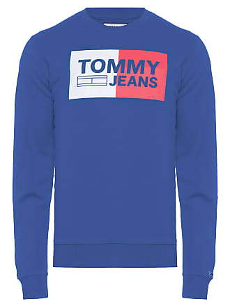 Tommy Jeans BLUSA MASCULINA ESSENTIAL LOGO - AZUL
