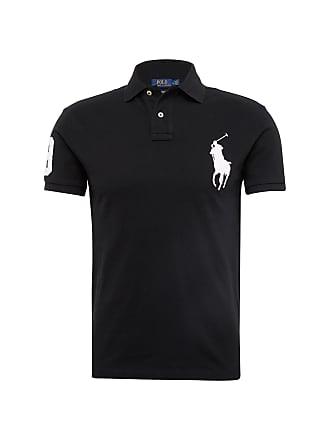 Ralph Lauren Poloshirt SSKCBPPSLM-SHORT SLEEVE-KNIT schwarz c0e0a9d0c9
