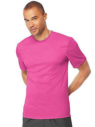 54296a8a Hanes Sport Cool Dri Mens Performance Tee Safety Orange 2XL