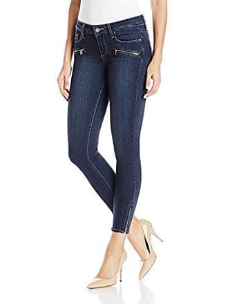 Paige Womens Jane Zip Crop Jeans-Avi No Whiskers, 28