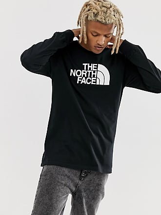 The North Face Half Dome long sleeve t-shirt in black - Black