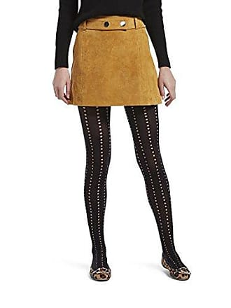 59acf481303251 Hue Womens Fashion Tights with Control Top, Assorted, Eyelet Stripe -  Black, M