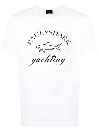 Paul & Shark Camiseta com estampa de logo - Branco