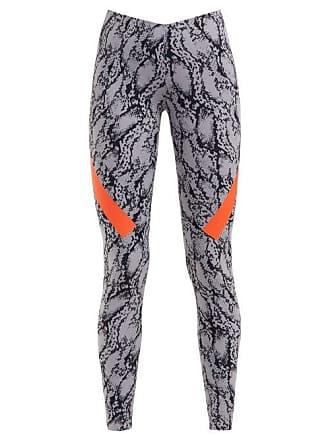 31dc92a7d89 adidas by Stella McCartney Adidas By Stella Mccartney - Alpha Snake Print  Stretch Leggings - Womens