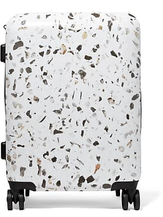 Calpak Terrazzo Carry-on Marbled Hardshell Suitcase - White