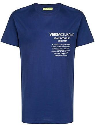 Versace Jeans Couture logo print T-shirt - Blue