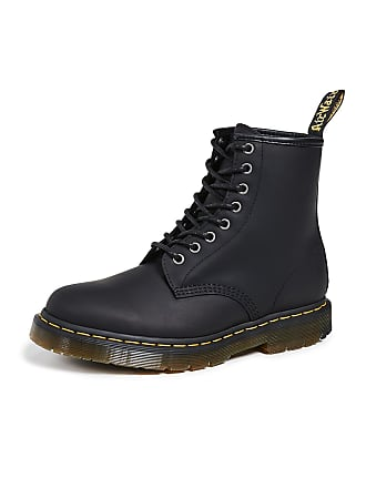 25263cb8a110 Dr. Martens Winterized 1460 8 Eye Boots - Black Snowplow