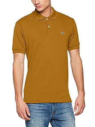 674ed5289b Lacoste Homme L1212-00 Original Short Sleeve Polo Shirt,Yellow  (Renaissance) Small