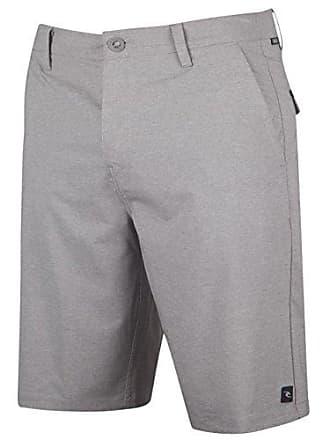 Rip Curl Mens Mirage Phase 21 Boardwalk Hybrid Shorts, Grey 4K, 28