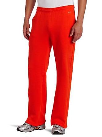 Soffe Mens Training Fleece Pocket Pant Orange XX-Large