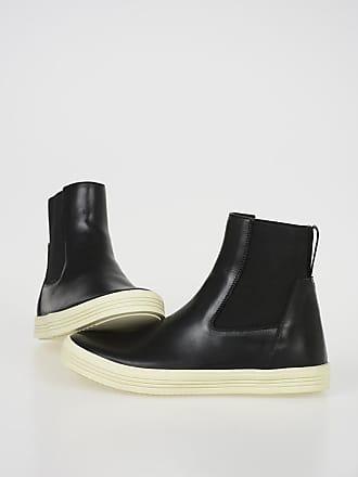 Rick Owens Leather MASTODON ELASTIC Boots size 35