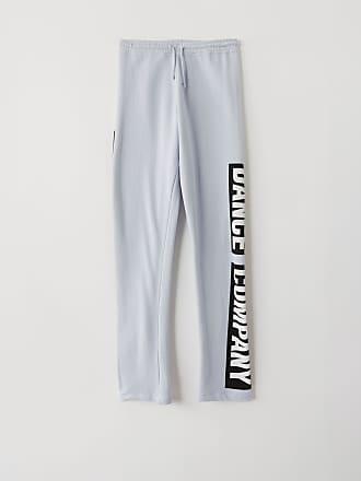 Acne Studios FN-WN-TROU000144 Pale blue Printed sweatpants