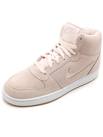 Nike Tênis Couro Nike Sportswear Wmns Ebernon Rosa