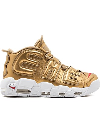 SUPREME Air More Uptempo / Nike x Supreme sneakers - Metallic