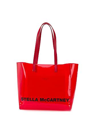 Stella McCartney Borsa tote piccola con stampa - Di Colore Rosso 8beae6ecca4