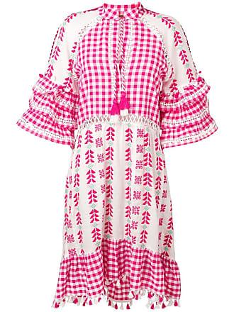 Dodo Bar Or Vestido com bordado - Rosa