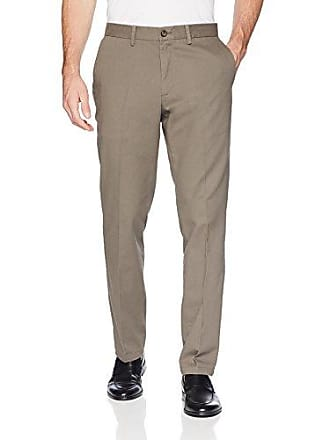 Amazon Essentials Mens Slim-Fit Wrinkle-Resistant Flat-Front Chino Pant, Taupe, 42W x 28L