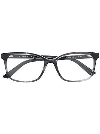 Calvin Klein Armação para óculos com efeito mármore - Preto