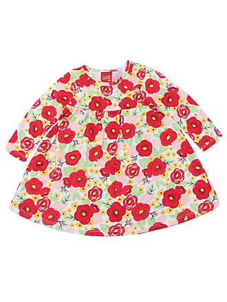 KYLY Vestido Kyly Floral Vermelha