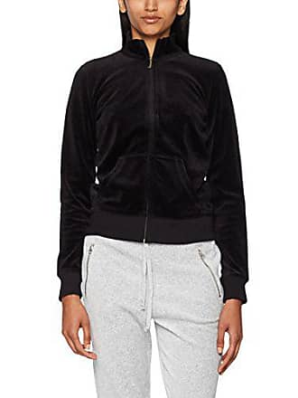 3b3b679c49e9 Juicy Couture Black Label Womens Velour Fairfax Fitted Jacket