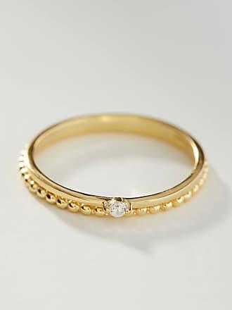 Shashi 18K Gold Roped Ring Set