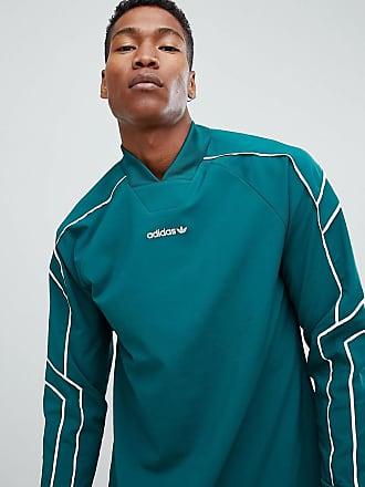 a365b36e2 adidas Originals EQT Goalie Top In Green DH5142 - Green