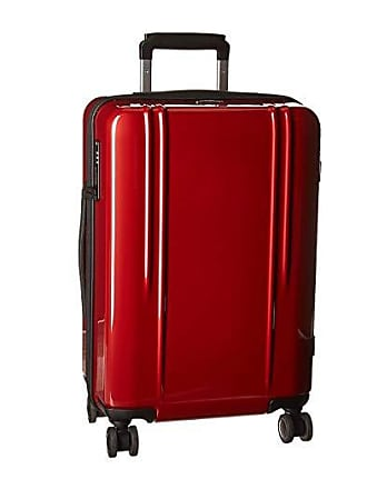 Zero Halliburton ZRL Polycarbonate 22 - Domestic Carry-On Spinner (Red) Luggage