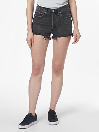 Levi's Damen Jeansshorts - 501 grau