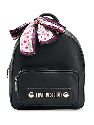 Love Moschino logo backpack - Preto